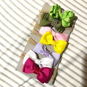 Newborn bows bundle